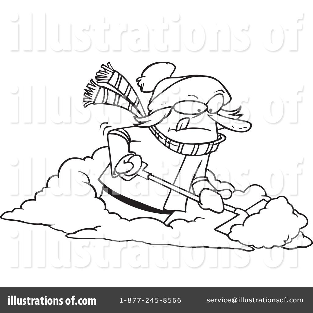 Snow Shovel Clipart