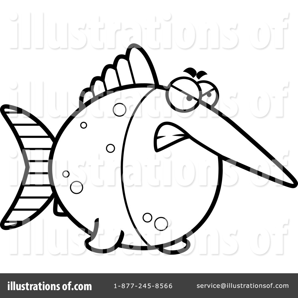 sword fish drawing colouring pages page 2