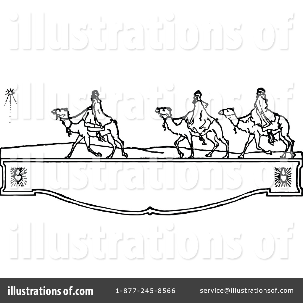 Three Wise Men Clipart