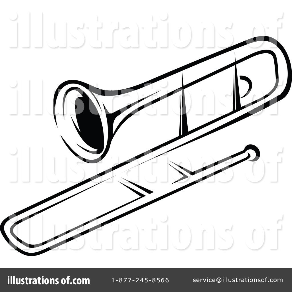 Trombone Clipart By Seamartini Graphics