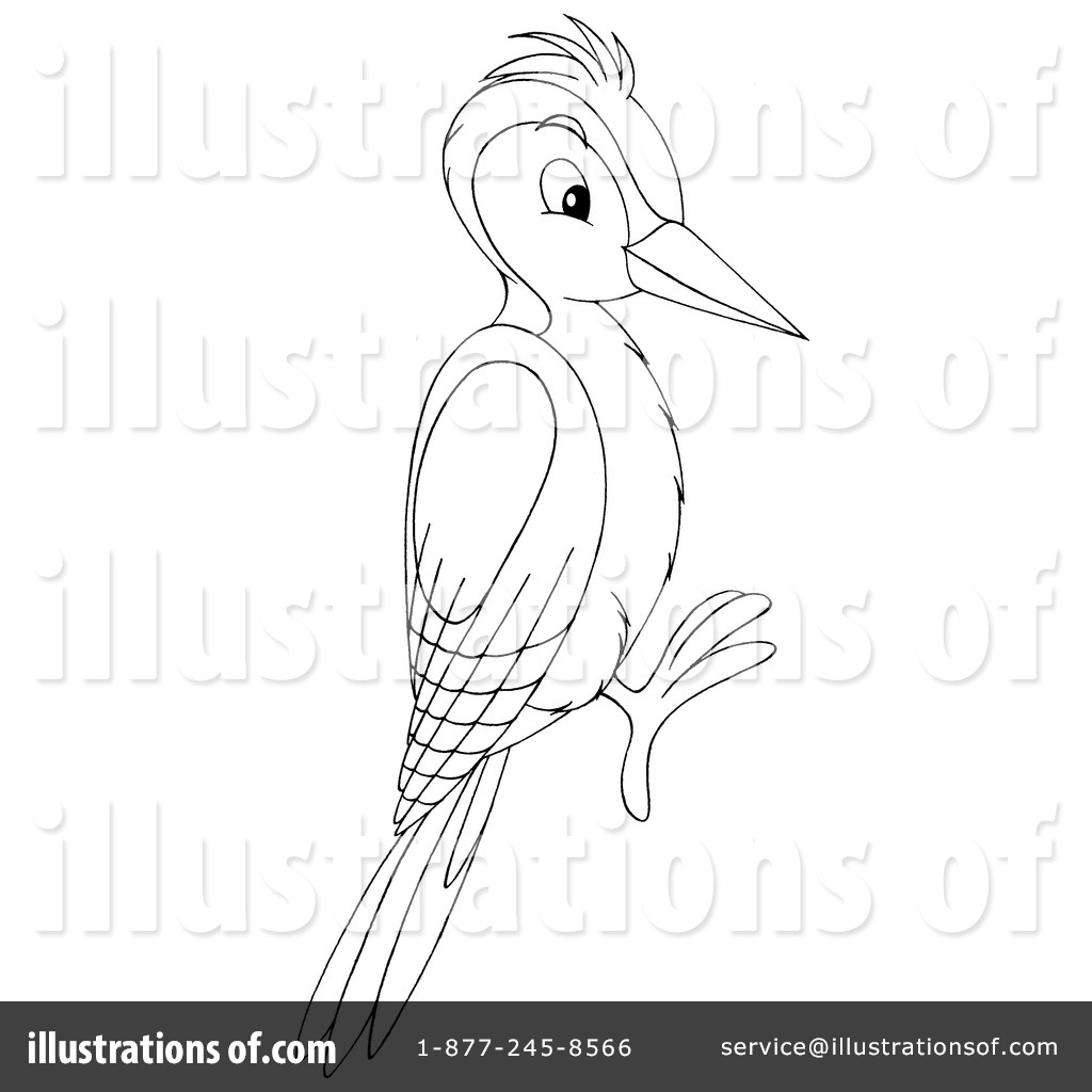 Woodpecker Clip Art Black And White Cliparts