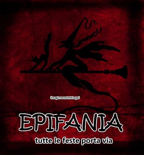 Cartoline Epifania Tutte Le Feste Porta Via Il Magico Mondo Dei