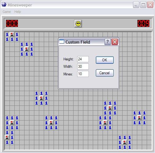 Minesweeper Custom