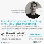 Boost Your Personal Branding through Digital Marketing