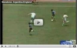 I goal più belli di Maradona