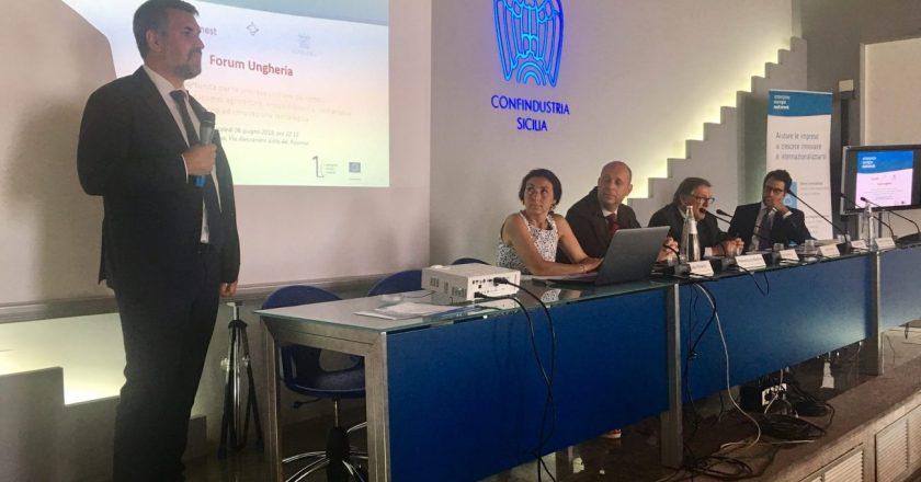 Opportunità di business in Ungheria, un forum a Sicindustria