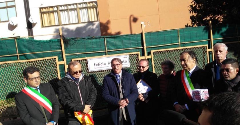 Palermo, intitolata a Felicia Impastato una via del quartiere Bonagia