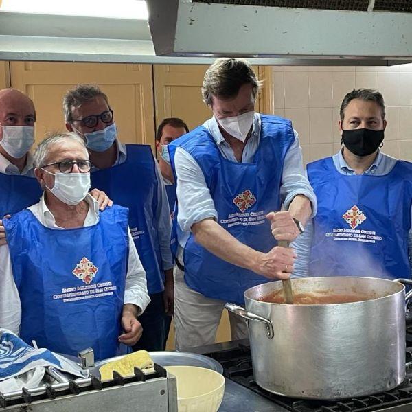 Palermo, dai Borbone pranzo per un mese a ospiti Boccone del Povero