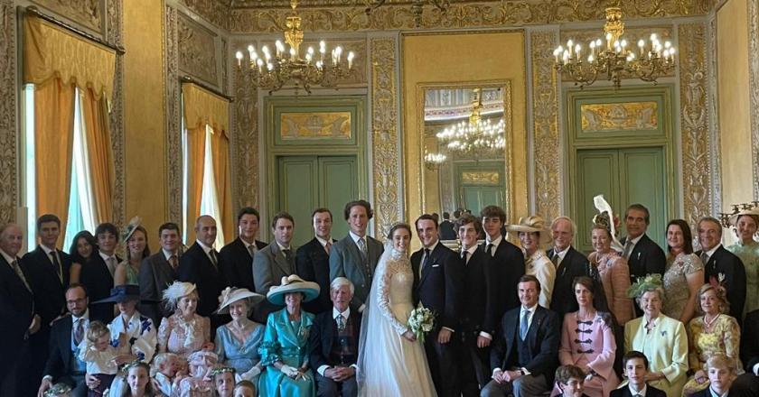 Nozze reali a Palermo, Don Jaime di Borbone sposa Lady Charlotte Diana