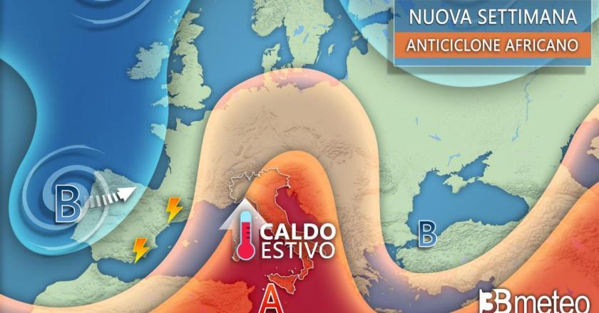 """3bmeteo.com: """"Sarà ancora estate, caldo con punte di oltre 32-33°"""""""