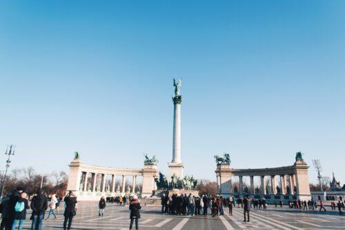 Budapest - piazza degli eroi