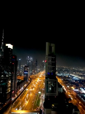 Sheik Zayed road