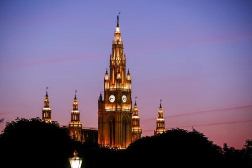 il municipio di Vienna