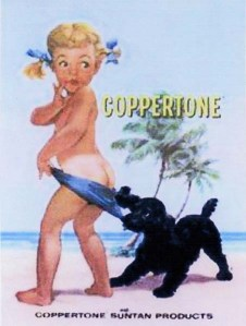 Pubblicità della Coppertone