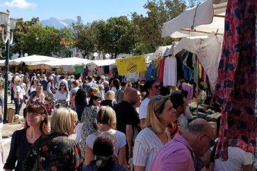 Martedì 27 agosto mercato straordinario in piazza Marconi a Forte dei Marmi