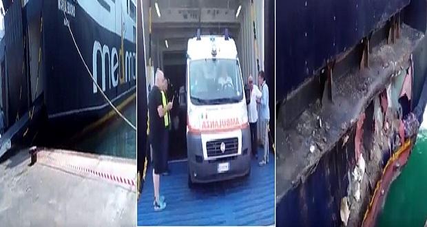 Ischia, nave contro una banchina: 29 feriti