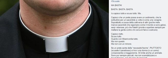 San Marino, parroco choc su facebook: se un prete sente necessità fisiche lo faccia con un animale
