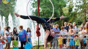 Le incredibili performance dello Smile Circus a Noicattaro