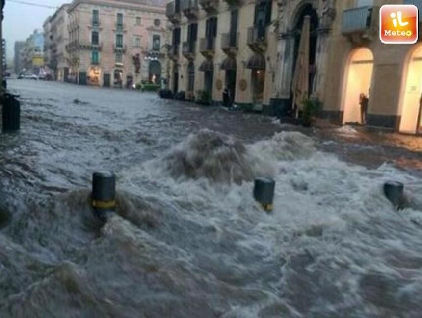Previsioni meteo Sicilia, alluvione in arrivo