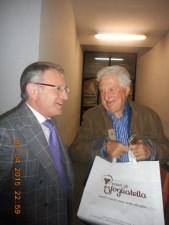 Antonio Ferrieri con Gianfranco D'Angelo