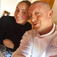 Lo chef Flavio D'auria e la moglie Vittoria,