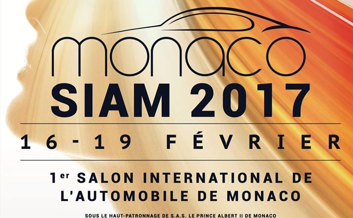 Siam2017. Ecco il primo salone internazionale dell'automobile nel Principato di Monaco