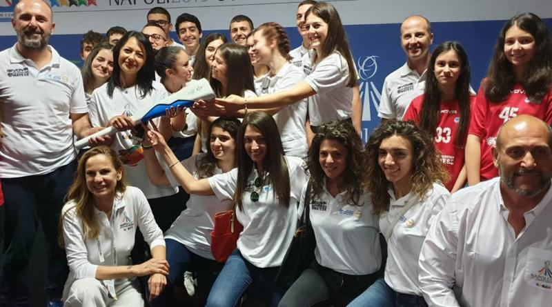 Universiadi 2019: una folta rappresentanza di Piedimonte Mates