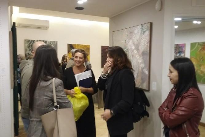 Napoli, mostra di Domenico Spinosa alla Galleria l'Ariete