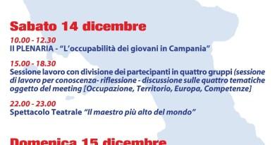 """Forum regionale dei Giovani della Campania, Convegno: """"Orizzonte Comune"""""""