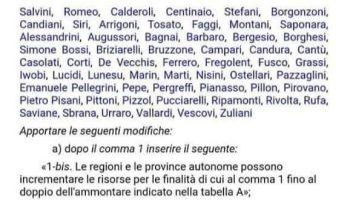 """Coronavirus; Ciambella / Angelucci (PD): """"inaccettabile emendamento di Salvini contro medici e personale sanitario; lo ritiri subito"""""""