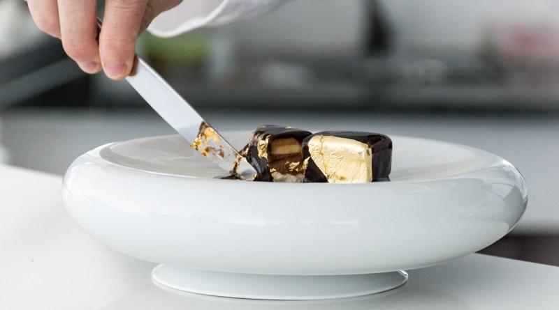 Il lingotto d'oro_Lo chef Nunzio Spagnuolo come Gualtiero Marchesi: mette l'oro sul dessert!