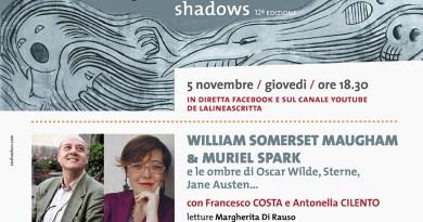 5 novembre Strane Coppie racconta Somerset Maugham e Spark