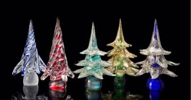 I vetri di Wave Murano glass incontrano la magia del Natale