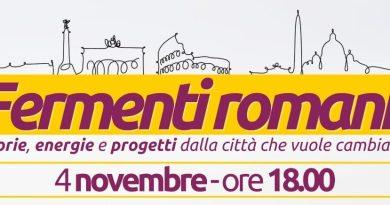 Roma, Pop – Green Italia: lanciamo Fermenti romani, è il momento di far irrompere storie, energie e progetti.