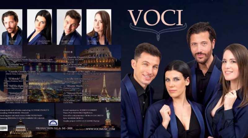 Voci: il primo album in chiave pop-opera di 4 cantanti lirici napoletani