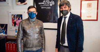 Donata in beneficenza alla Fondazione Cannavaro Ferrara una quota della raccolta fondi attivata a favore del rider derubato dello scooter lo scorso gennaio
