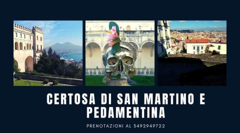 Certosa di San Martino e Pedamentina: c'è chi scende e c'è chi sale