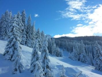 Alta Badia dopo una nevicata