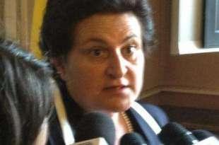 La candidata Lucia Pinsone