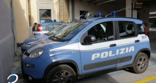 Polizia di Stato - Falchi - arrestato