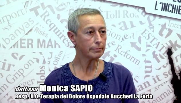 dott. ssa monica sapio - responsabile u.o. terapia del dolore buccheri la ferla