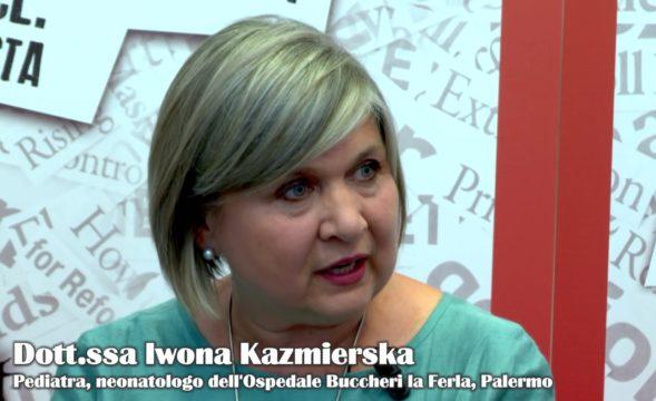 Alla salute di tutti -Dott.ssa Iwona Kazmierska Pediatra, neonatologo dell'Ospedale Buccheri la Ferla, Palermo