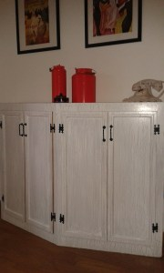 Il mobile bar Shabby Chic