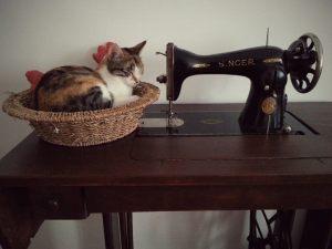 La vecchia macchina da cucire