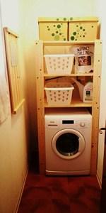 Se la lavanderia è uno sgabuzzino, non disperate!