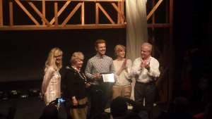 Il talento premiato: Luca Giacomelli Ferrarini riceve il Massimini 2015