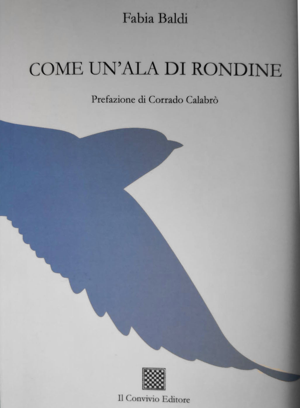 COME UN'ALA DI RONDINE: i versi di FABIA BALDI