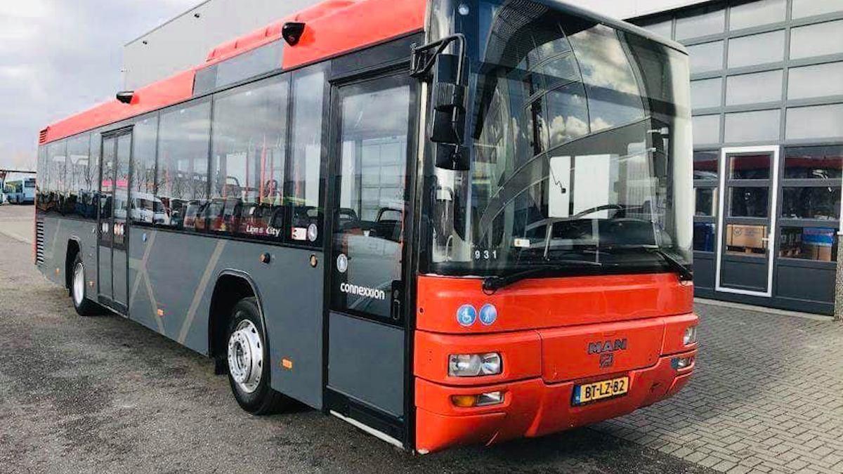 Autobuz din Slobozia. FOTO Facebook