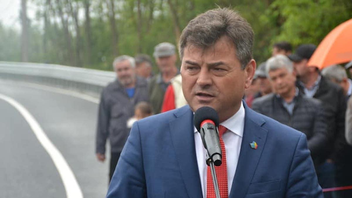Victor Moraru, președintele Consiliului Județean Ialomița. FOTO CJ Ialomița
