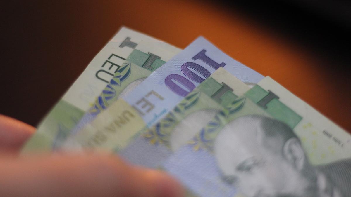 Mai mulți bani. FOTO Adrian Boioglu